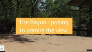 Bayon south library siem reap cambodia