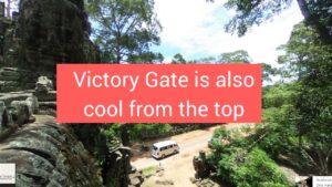 Victory gate Angkor Cambodia