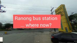 Ranong Bus Terminal ranong thailand