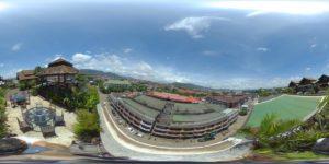 14 hotel pakse 7th floor panorama restaurant pakse Laos